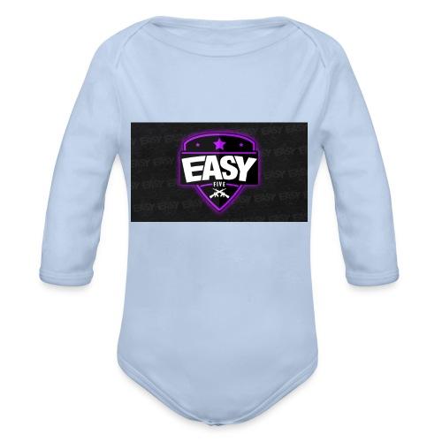 Team EasyFive muki - Vauvan pitkähihainen luomu-body