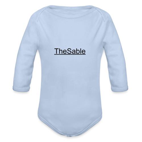 TheSable Sable T-shirt - Langærmet babybody, økologisk bomuld