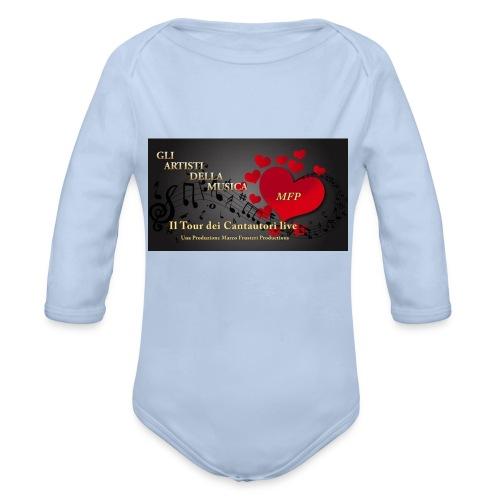 Gli_Artisti_della_Musica-iloveimg-resized - Body ecologico per neonato a manica lunga