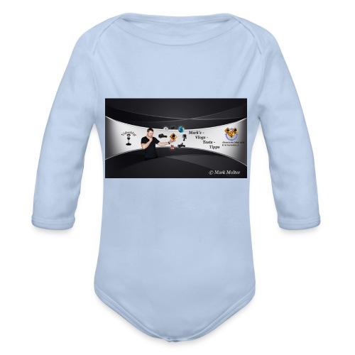 Kanalhintergrund MMolterVideo - Baby Bio-Langarm-Body