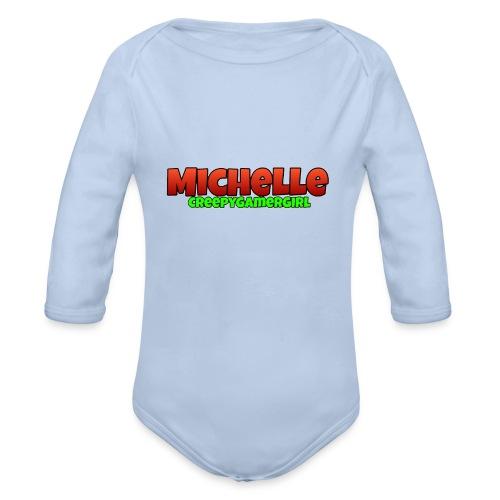 MichelleCGG Hülle - Baby Bio-Langarm-Body