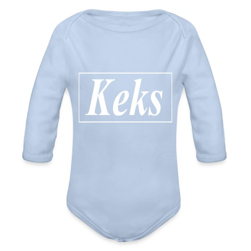 Keks - Baby Bio-Langarm-Body