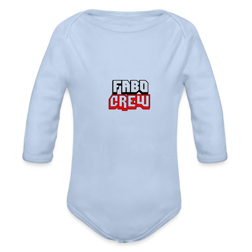 Fabo Crew Merch - Baby Bio-Langarm-Body