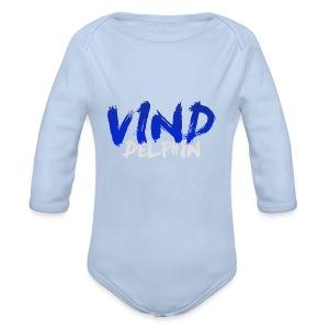 VindDelphin - Baby bio-rompertje met lange mouwen