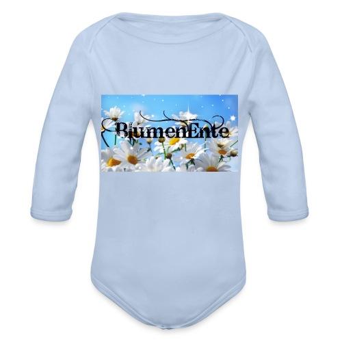 BlumenEnte - Baby Bio-Langarm-Body