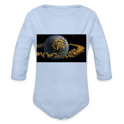 erde4 - Baby Bio-Langarm-Body