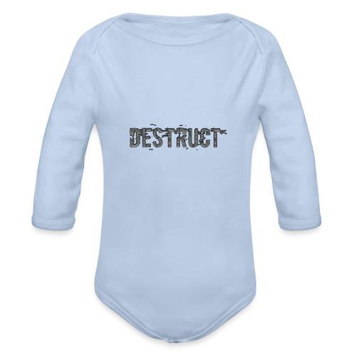 Destruct - Baby Bio-Langarm-Body