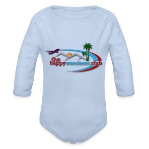 The Happy Wanderer Club - Organic Longsleeve Baby Bodysuit