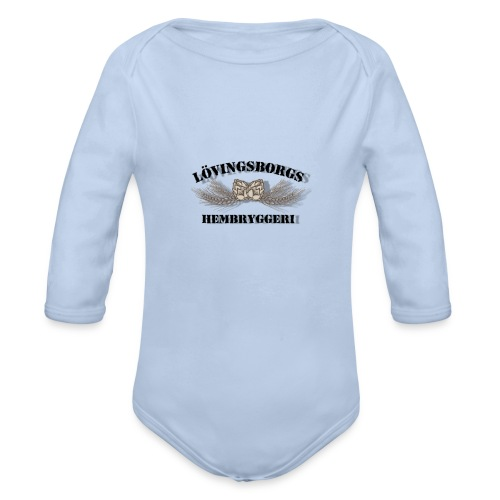 Merch - Ekologisk långärmad babybody