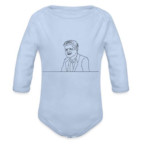 JFK - Body Bébé bio manches longues