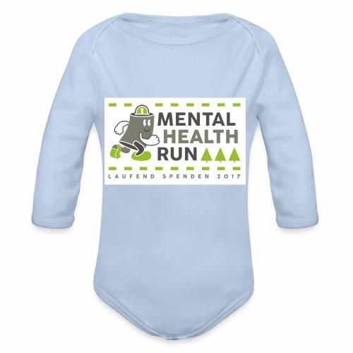 mental health run 2017 - Baby Bio-Langarm-Body