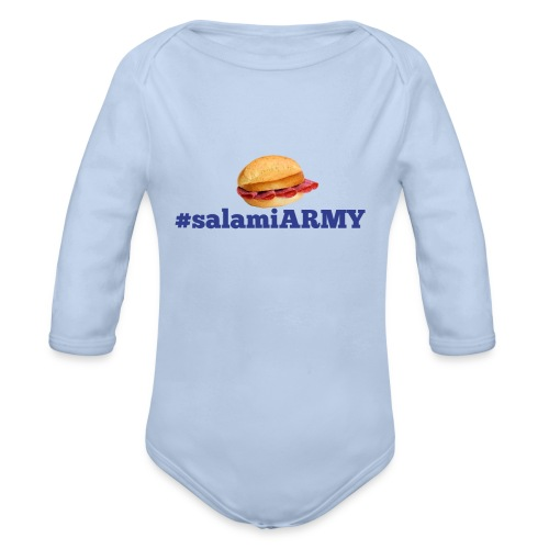 SalamiiArmy SportMerch - Baby Bio-Langarm-Body
