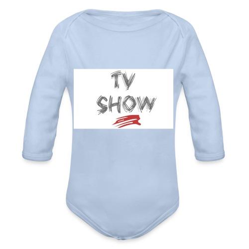 TVShowShop - Body bébé bio manches longues