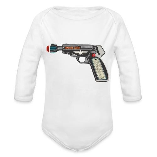 SpaceGun - Organic Longsleeve Baby Bodysuit