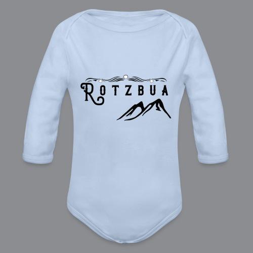 Rotzbua - Baby Bio-Langarm-Body
