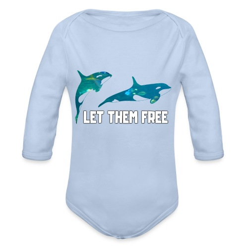 Let Them Free - Body bébé bio manches longues