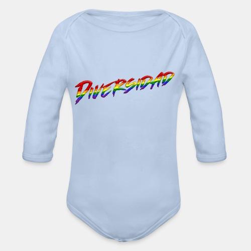 Diversidad Gay - Body orgánico de manga larga para bebé