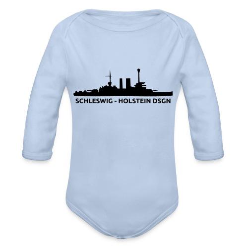 Schleswig-Holstein DSGN - Ekologiczne body niemowlęce z długim rękawem