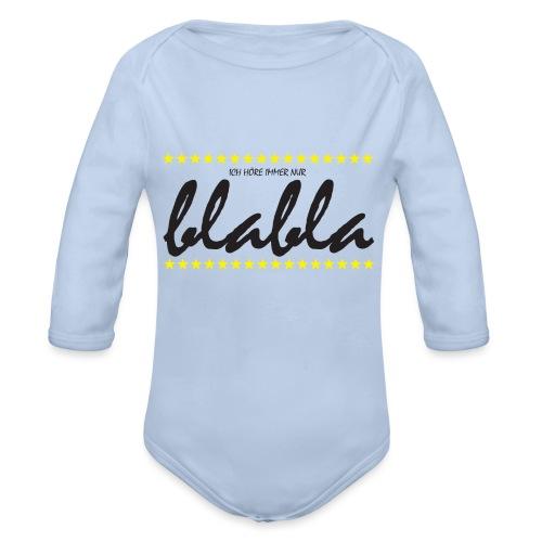 Blabla - Baby Bio-Langarm-Body