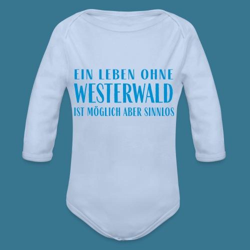 Westerwaldleben. - Baby Bio-Langarm-Body
