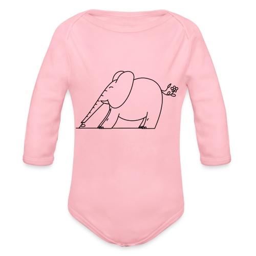 (eleftshirt) - Body Bébé bio manches longues
