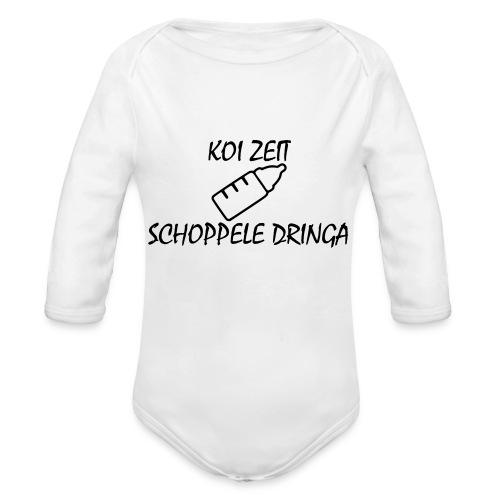 KoiZeit - Schoppele - Baby Bio-Langarm-Body