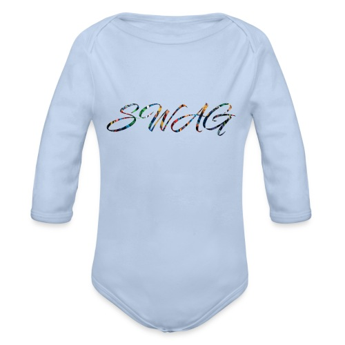 Texte 'Swag' - Body bébé bio manches longues