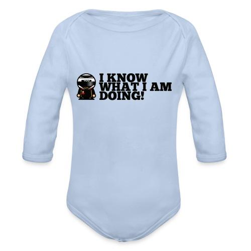 Kimi Raikonnen - Leave Me Alone... - Organic Longsleeve Baby Bodysuit