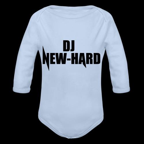 DJ NEW-HARD LOGO - Baby bio-rompertje met lange mouwen