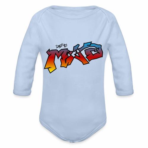 Life Is MAD CGI Makeover TM collaboration - Organic Longsleeve Baby Bodysuit