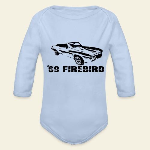 firebird small - Langærmet babybody, økologisk bomuld