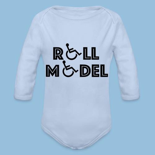 RollModel - Baby bio-rompertje met lange mouwen