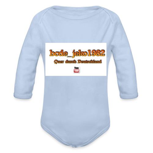 quer durch deutschland - Baby Bio-Langarm-Body
