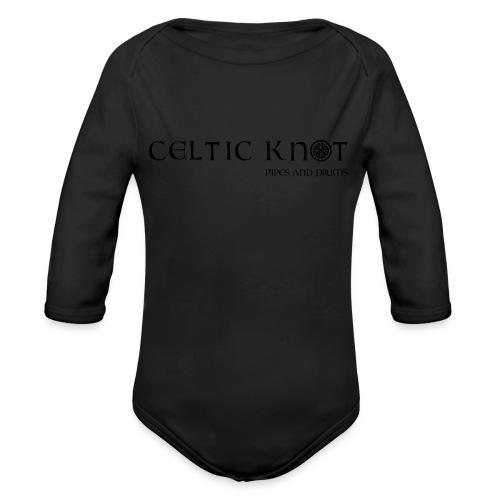 Celtic knot - Body ecologico per neonato a manica lunga