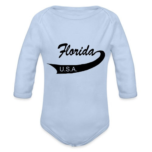 Florida USA - Baby Bio-Langarm-Body