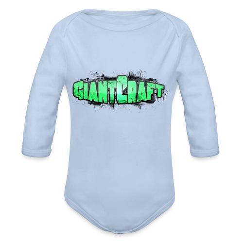 Herre T-shirt - GiantCraft - Langærmet babybody, økologisk bomuld