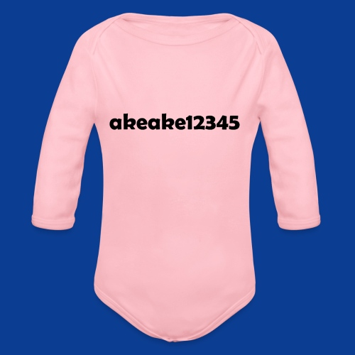Shirts and stuff - Organic Longsleeve Baby Bodysuit