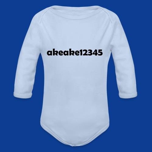 Shirts and stuff - Organic Longsleeve Baby Bodysuit