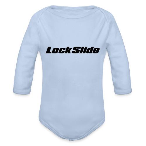 LockSlide Snapback - Organic Longsleeve Baby Bodysuit