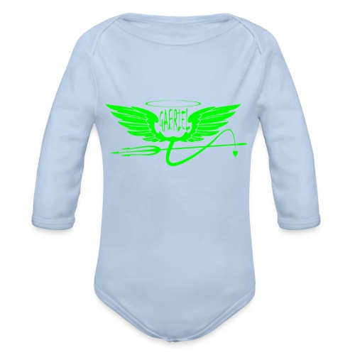 gabriel 2 - Body ecologico per neonato a manica lunga