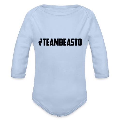 #TeamBeasto Sportswear - Organic Longsleeve Baby Bodysuit