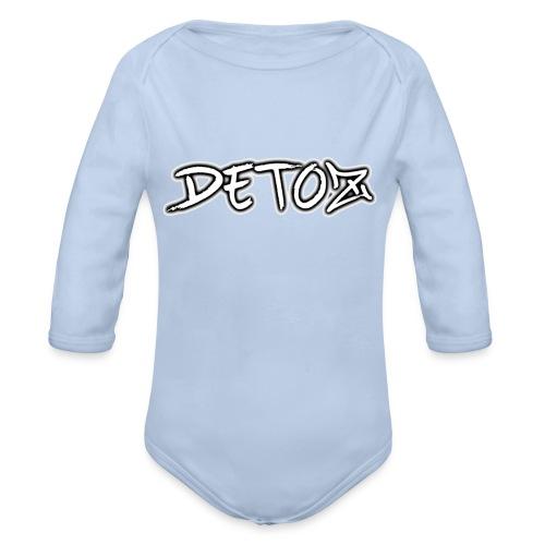 Detoz Merchandise - Baby Bio-Langarm-Body