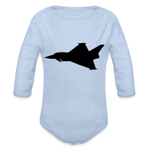 EF2000 Typhoon - Organic Longsleeve Baby Bodysuit