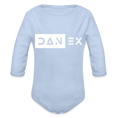 Dan Ex Logo (Long) - Baby Bio-Langarm-Body