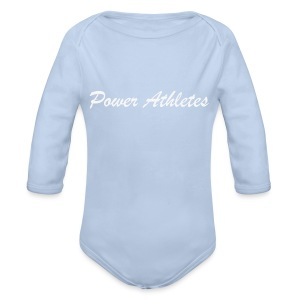 cap power athletes - Baby bio-rompertje met lange mouwen