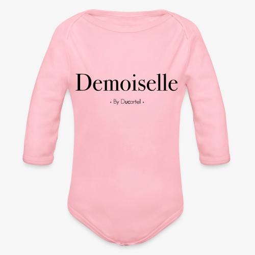 Demoiselle - Body Bébé bio manches longues