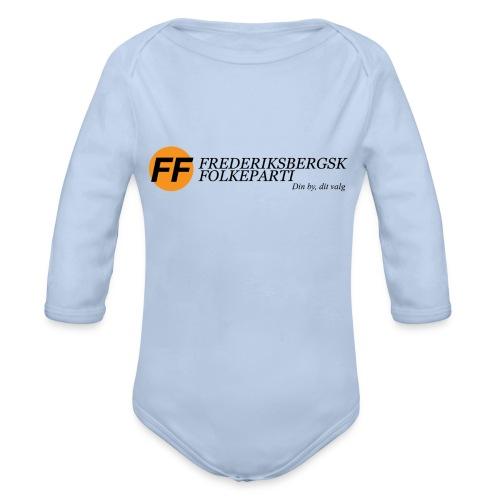 Din by, fit valg - Børnekollektion - Langærmet babybody, økologisk bomuld