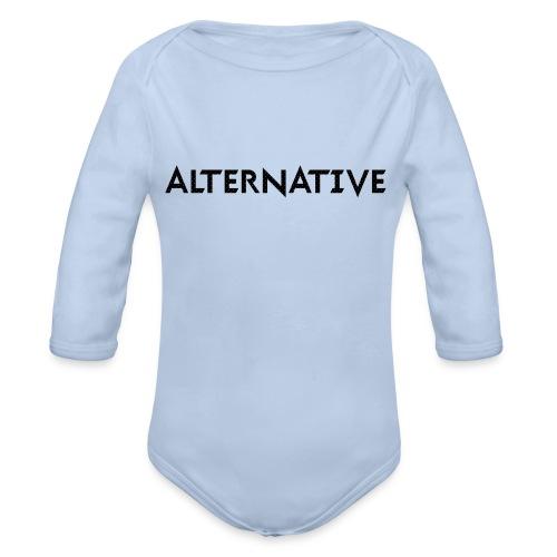Im Hoodie White - Ekologiczne body niemowlęce z długim rękawem