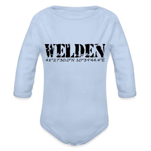 WELDEN_NE - Baby Bio-Langarm-Body