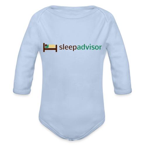 SleepAdvisor - Body ecologico per neonato a manica lunga